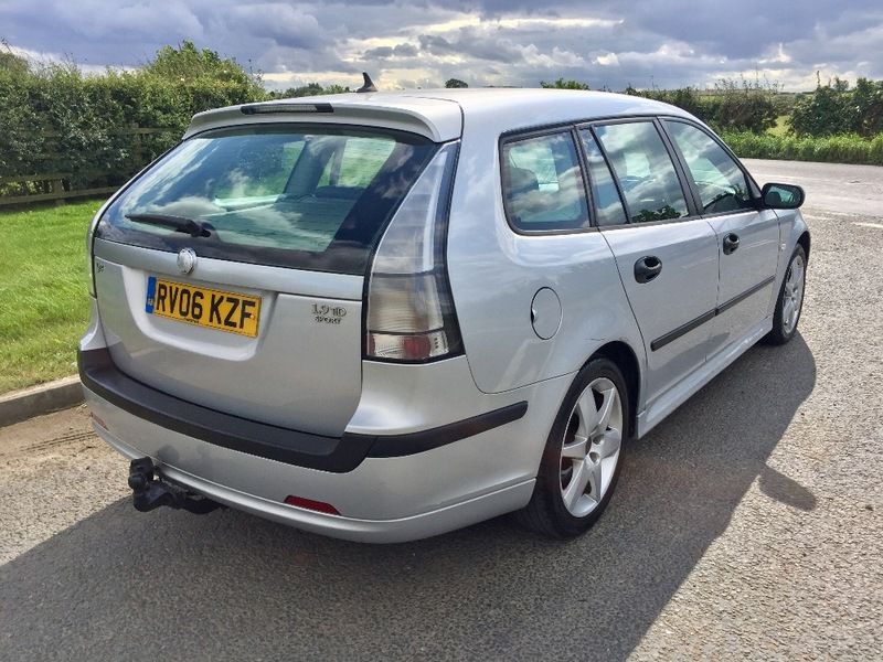 View SAAB 9-3 1.9 DT VECTOR SPORT, LONG MOT, 8 SERVICE STAMPS, CAMBELT CHANGED,